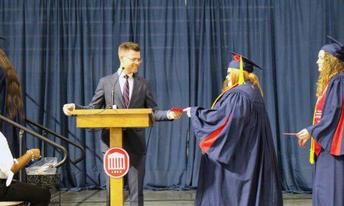 Graduating Senior Lends Social Work Skills to Local Treatment Facility