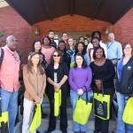 Part 1/2: A group of a social work students who visited the Methodist Senior Services