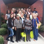 Part 2/2: A group of social work students who visited the Methodist Senior Services