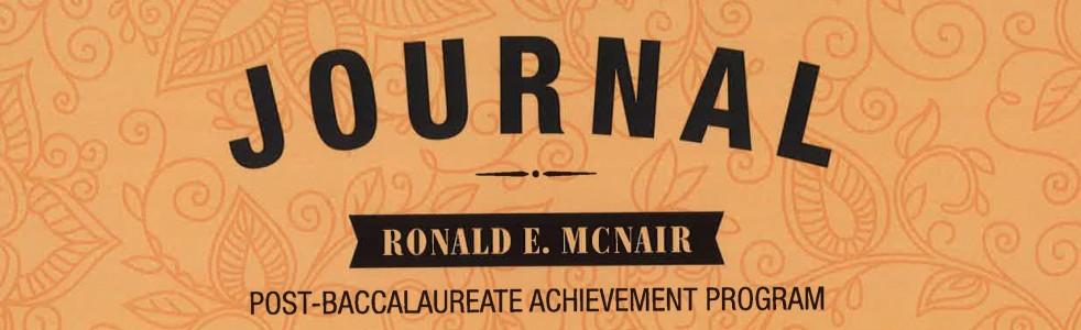 McNair Journal edit